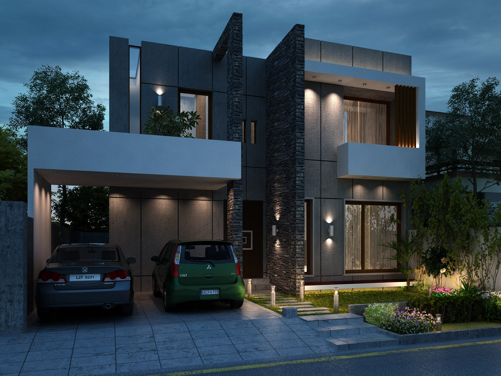 5 Marla Front Elevation Designs : House front elevation design joy studio gallery best